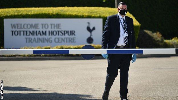 Tottenham Hotspur training ground security