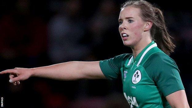 Claire McLaughlin has earned 16 Ireland caps