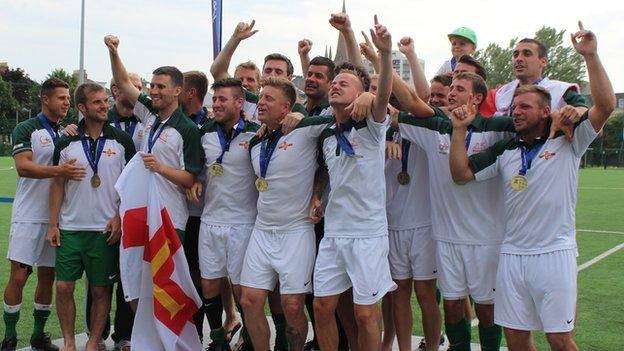 Guernsey in football gold