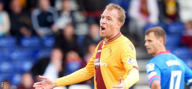 David Clarkson returned for a second spell at Motherwell this summer