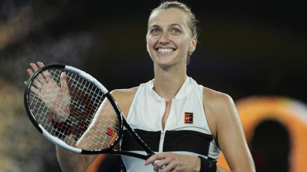 Australian Open 2019: Petra Kvitova sets up semi-final against Danielle Collins thumbnail