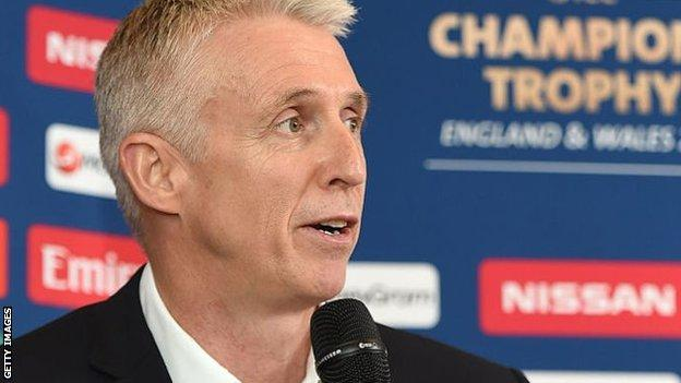 ECB director of events Steve Elworthy