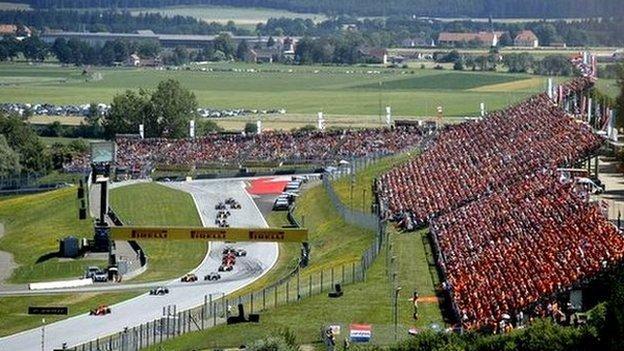 The Red Bull Ring, Austria