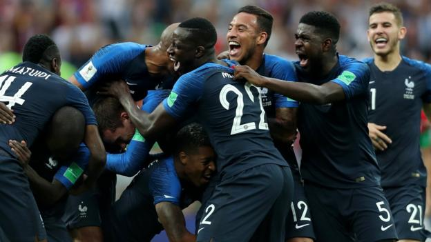 World Cup 2018: France beat Croatia 4-2 in World Cup final