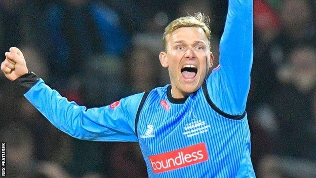 Danny Briggs only joined Warwickshire from Sussex in October