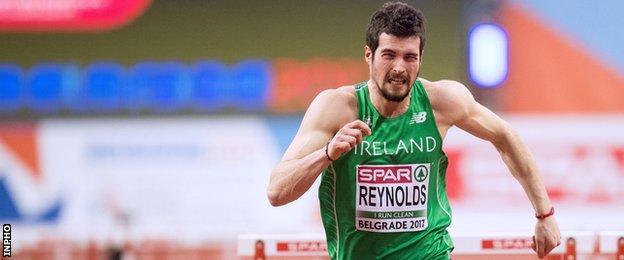 Ben Reynolds in action in Belgrade