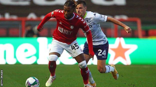Kasey Palmer has scored five goals in 46 appearances for Bristol City