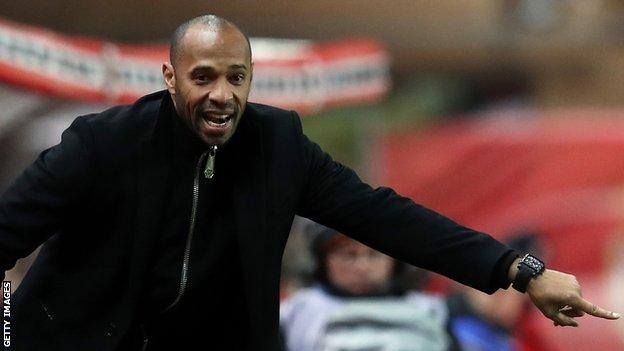 Former France and Arsenal striker Thierry Henry