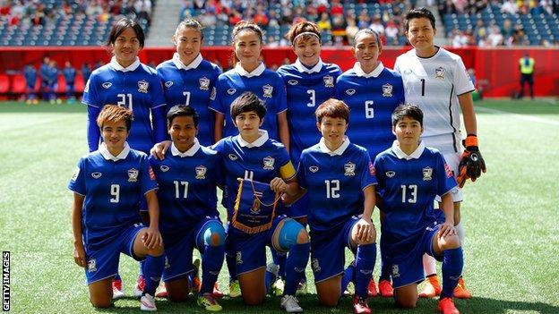 Thailand's 2015 team