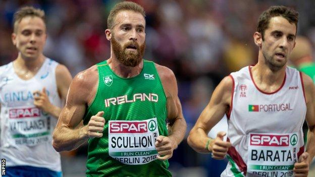 Scullion said he wanted to experience running a track event at a major championships so he plumped for the 10,000m and not the marathon at the European Championships in 2018