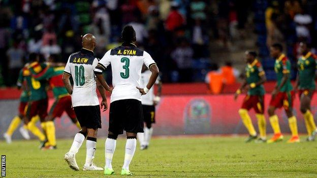 Ghana have failed to win the Nations Cup since 1982, despite reaching the last six semi-finals