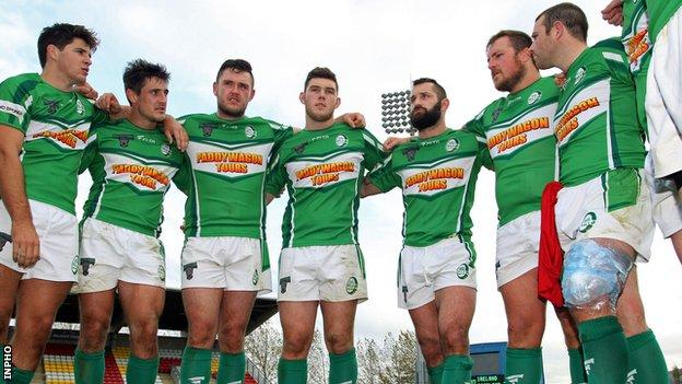 The Ireland Rugby League team were in action against Serbia in Belgrade