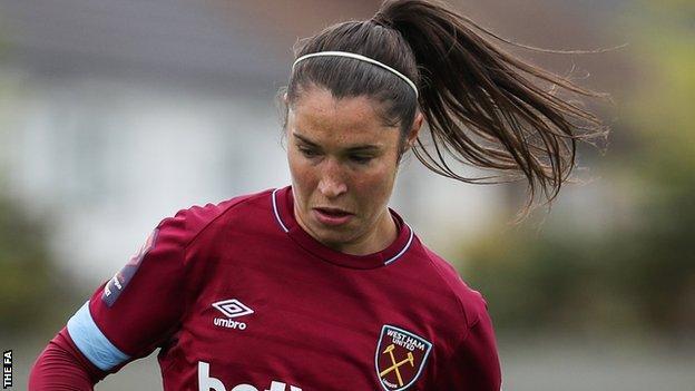 West Ham's Jane Ross
