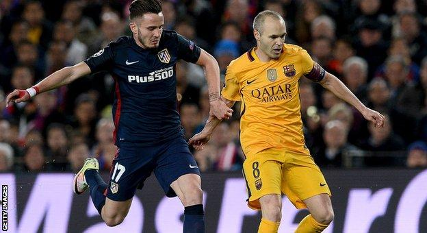 Barcelona hold narrow first-leg advantage against Atletico Madrid