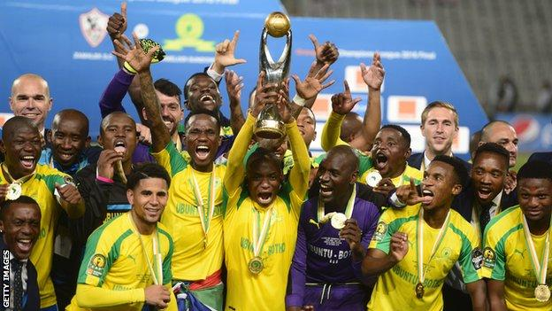 African champions Mamelodi Sundowns