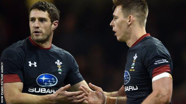 Jonah Holmes and Liam Williams