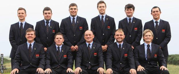 GB Walker Cup team, 2011