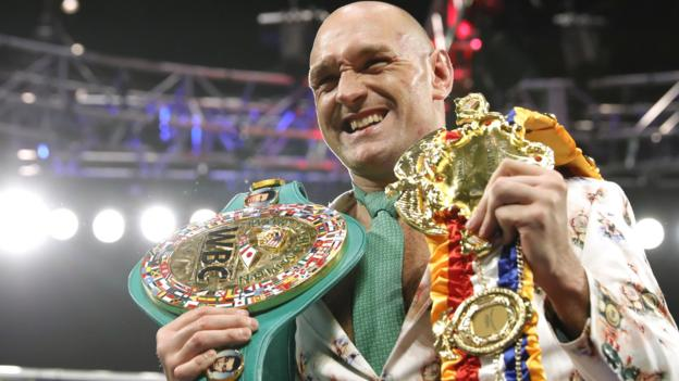Tyson Fury promoter Frank Warren 'disappointed' by prospect of Deontay Wilder rematch