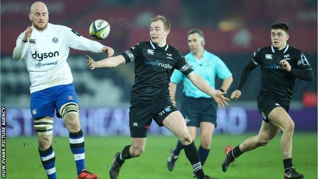 Luke Price made his Ospreys senior debut in 2012 and has been capped by Wales at U21 level