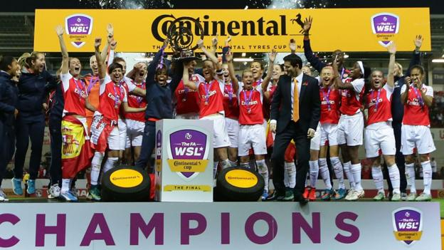 Continental Cup: Arsenal Ladies face Manchester City Women