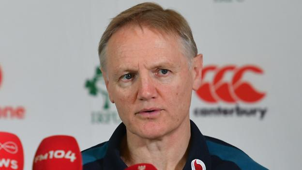 Six Nations 2019: Joe Schmidt surprised by Wales' Cardiff roof request thumbnail