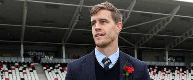 Ulster winger Andrew Trimble has retired