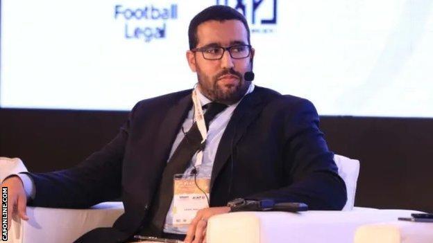 Caf's Acting Secretary General Abdel Bah