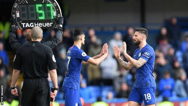 Premier League: Five substitutes approved for rest of 2019-20 season