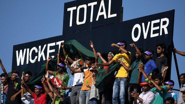 Bangladesh fans