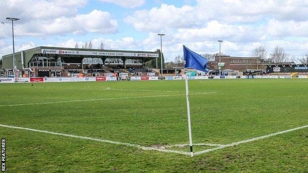 Bromley's Hayes Lane ground
