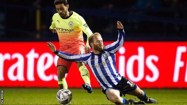 Manchester City's Bernando Silva