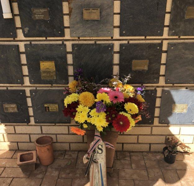 Hansie Cronje's ashes