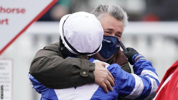 Frost becomes first female jockey to win King George thumbnail