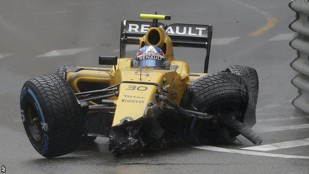 Jolyon Palmer's Renault