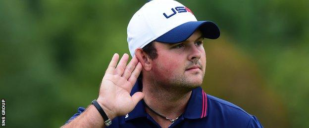 Patrick Reed enjoyed the 2-14 Ryder Cup at Gleneagles