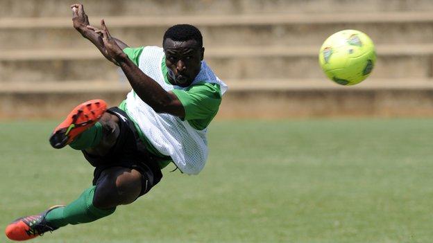 Zambia's Chris Katongo