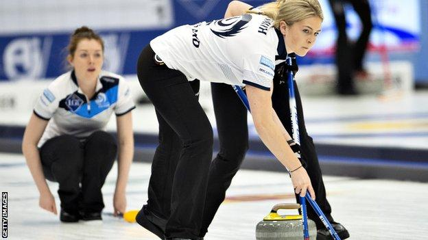 Scotland women's curling team