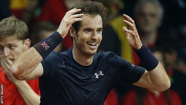 Murray will end the year as number two in the world rankings