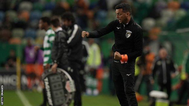 Bruno Lopes took temporary charge of Portuguese Primeira Liga side Portimonense last season