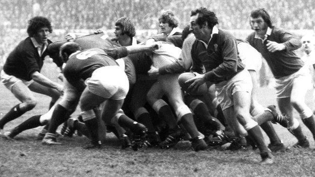 Wales 1970's international