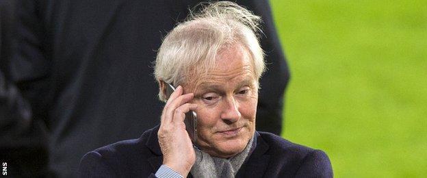 Celtic chairman Ian Bankier