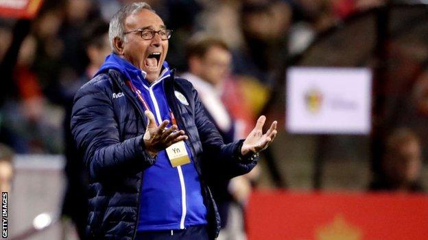 San Marino boss Franco Varella