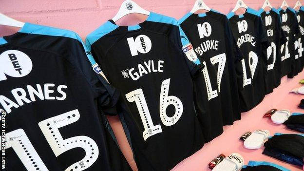 Norwich City away dressing room