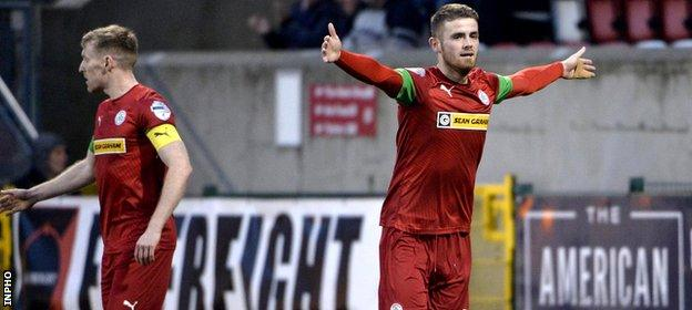 Ruaridhri Donnelly of Cliftonville