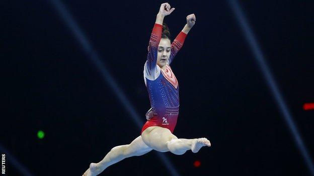 British gymnast Jessica Gadirova