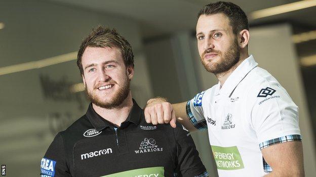 Stuart Hogg & Tommy Seymour