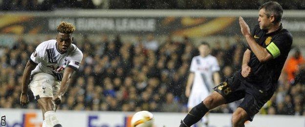 Joshua Onomah impressed for Tottenham on his first senior start