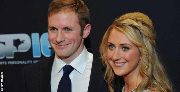 Jason Kenny and Laura Trott