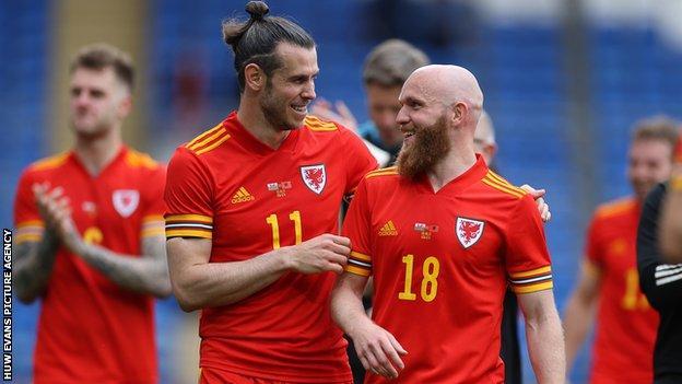 Gareth Bale and Jonny Williams