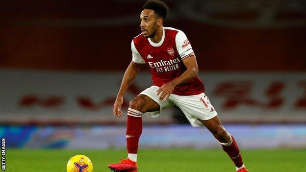 Arsenal forvet Pierre-Emerick Aubameyang